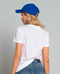 T-shirt z logo biały