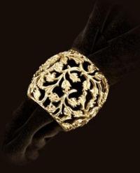 Zestaw 4 pierścieni do serwetek Lorél