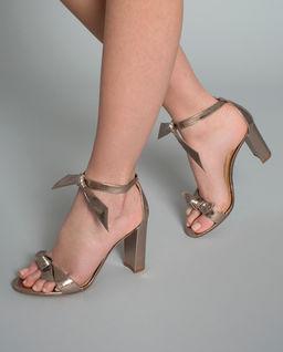 Sandały ze skóry Clarita