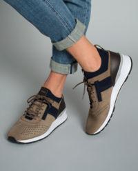 Sneakersy z nubuku