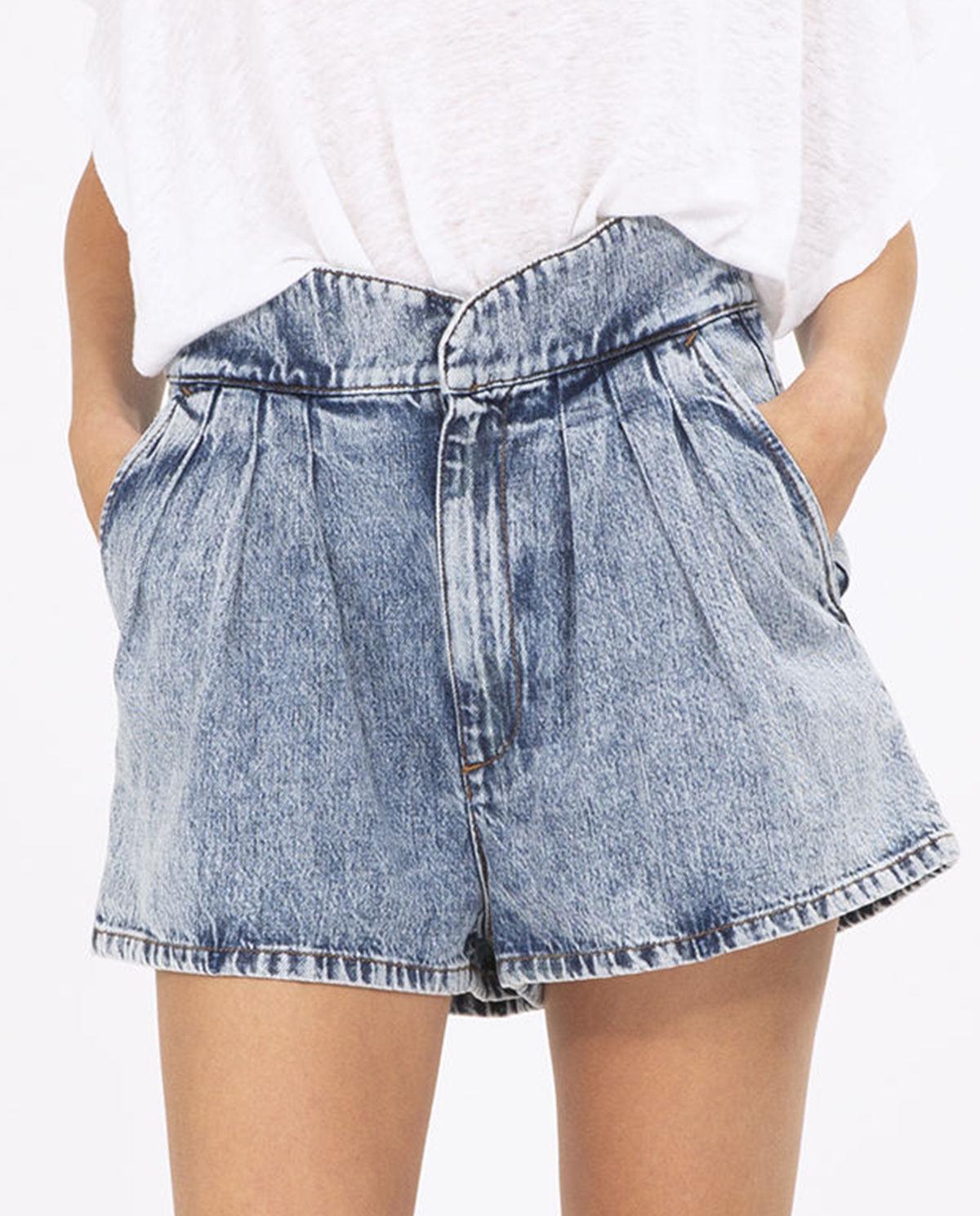 7538a39db1623a Spodenki jeansowe loyal IRO – Kup Teraz! Najlepsze ceny i opinie! Sklep  Moliera2.com