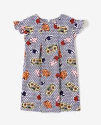 Sukienka z nadrukiem 4-8 lat
