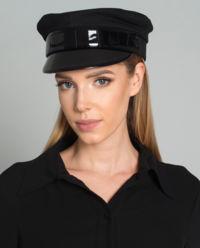 Bavlněná čepice se štítkem