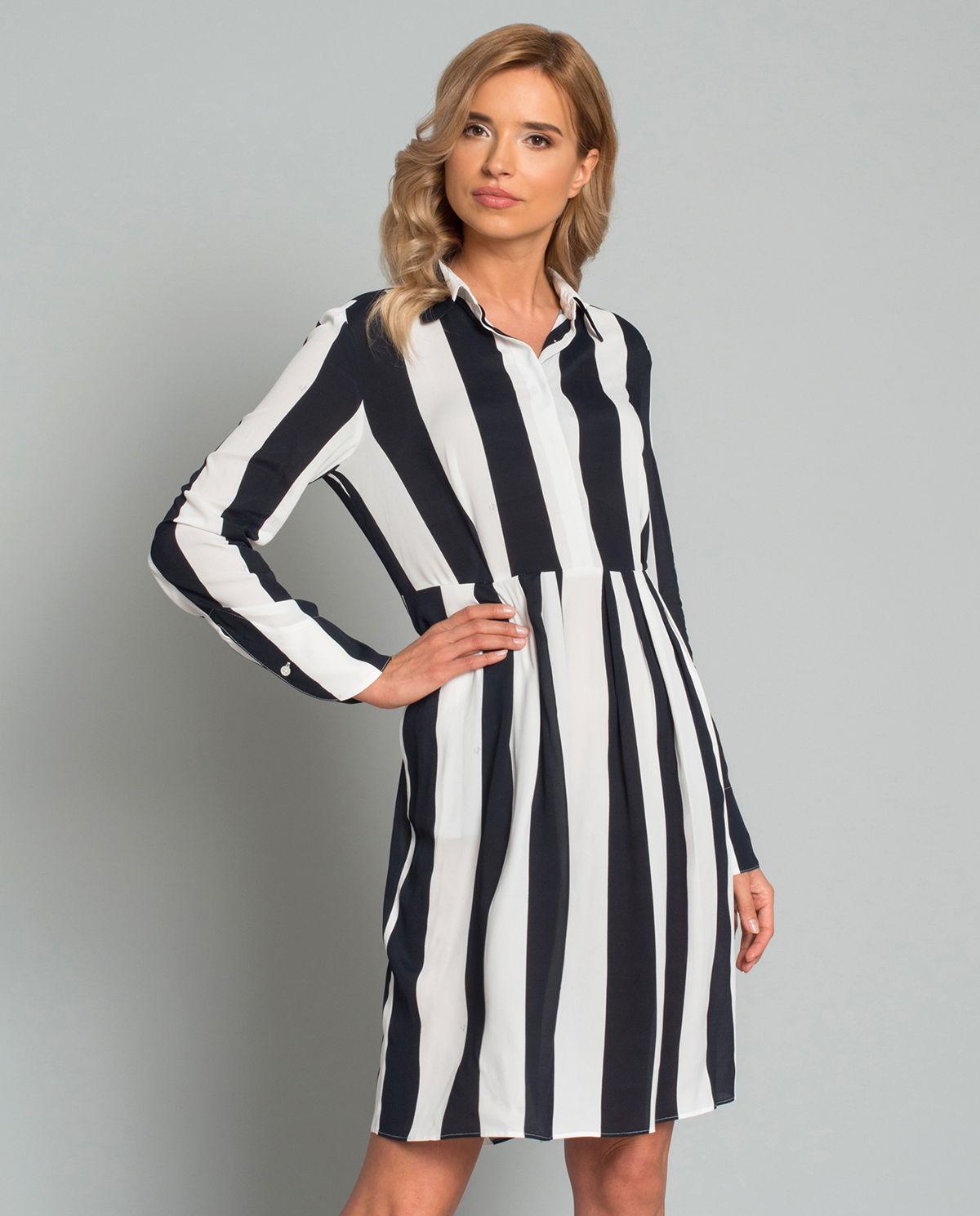 7edc37d1 Sukienka koszulowa w paski FAY – Kup Teraz! Najlepsze ceny i opinie ...