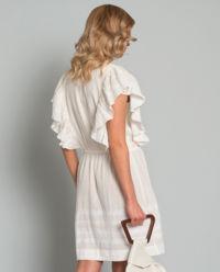 Sukienka z haftem