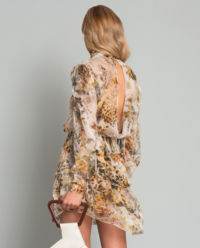 Sukienka z jedwabiu Antoinette Flora