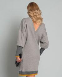 Sukienka ze ściągaczami