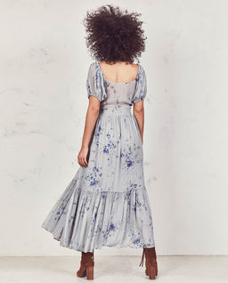 Sukienka z jedwabiu Angie