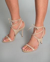 Sandały na szpilce Polonio