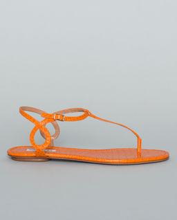 Sandały ze skóry Almost Bare