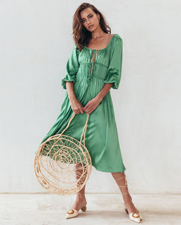 Šaty midi Dehlila