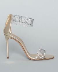 Sandály s krystaly Swarovsky Sirene