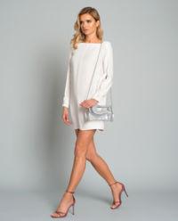 Sukienka z rozcięciami na rękawach