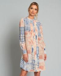 Hedvábné šaty Cora