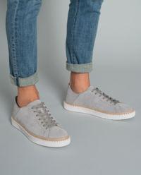 Sneakersy z zamszu H327