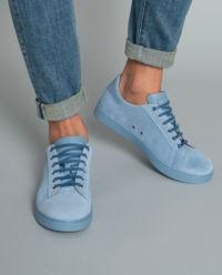 Sneakersy Low Top niebieskie