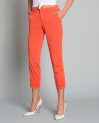 Spodnie Chino pomarańczowe