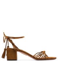 Sandály na podpatku Mescal