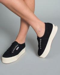 Czarne Sneakersy 2790