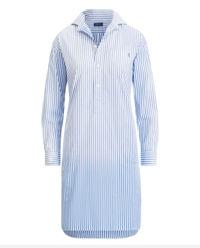 Pruhované midi šaty