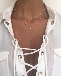 Srebrny Naszyjnik Rosary