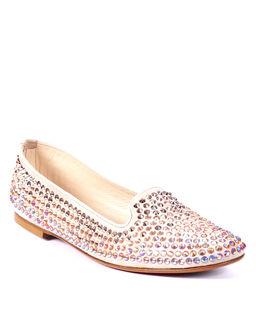 Loafery z kryształami