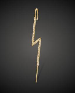 Kolczyk ze złota Bolt
