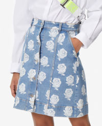 Džínová sukně Roses