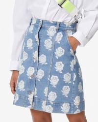 Spódnica jeansowa Roses