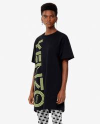 Sukienka z neonowym logo