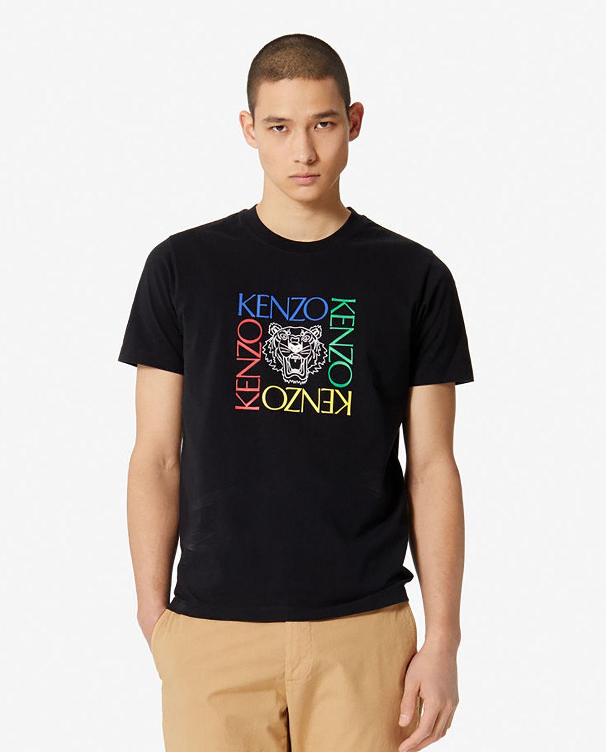 d17f3d45df T-shirt tiger square KENZO – Kup Teraz! Najlepsze ceny i opinie ...