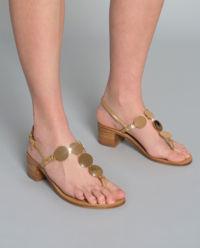 Sandály na podpatku Patos Disk