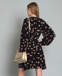 Sukienka jedwabna w kwiaty