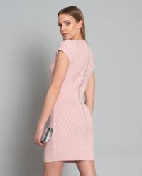 Sukienka mini z dzianiny