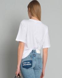 T-shirt z koralikami Odontoiatria