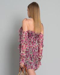 Sukienka z jedwabiu Talia
