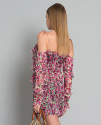 Hedvábné šaty Talia