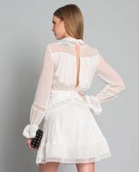 Sukienka mini z koronką