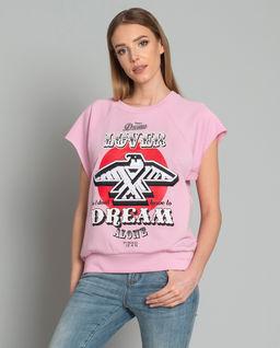 T-shirt z nadrukiem Greco