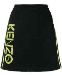 Spódnica z neonowym logo