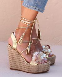 Sandály na klínu Sofia