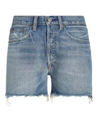 Spodenki jeansowe Boyfriend