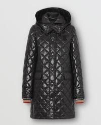 Płaszcz pikowany z monogramem
