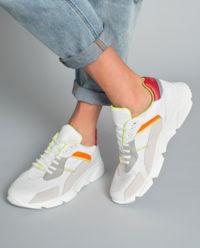 Sneakersy ze skóry naturalnej