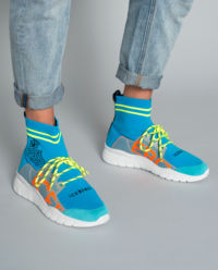 Sneakersy ze skarpetą