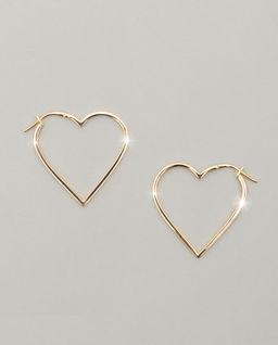 Kolczyki ze złota Hearts