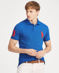 T-Shirt Polo Custom Slim Fit