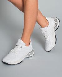 Białe sneakersy Dynamic