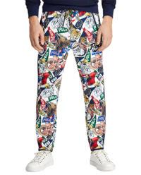Spodnie dresowe z grafiką