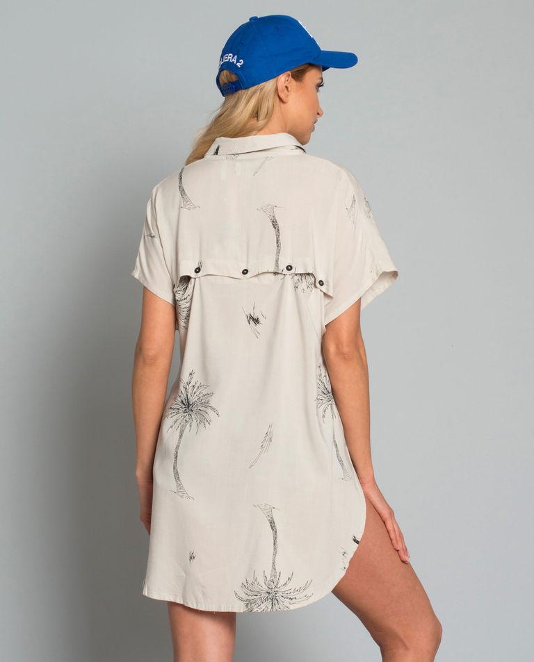Koszula w palmy